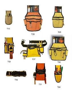 Cartuchera Cinto Para Herramienta Toolmen - 9 Modelos X 2