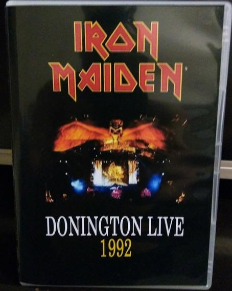 Iron Maiden - Donington Live 1992 (duplo)