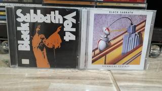2 Cds Black Sabbath