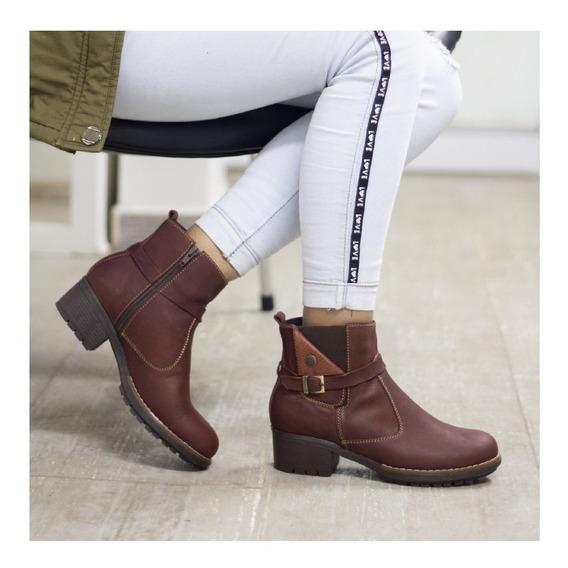 Botines Cuero Dama, Zapatos Cuero Maribu Shoes - Mod #710
