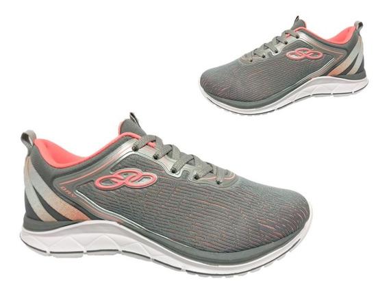 Tênis Olympikus Palmilha Feetpad Cinza Frete Off 008868