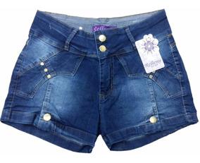 Kit C/3 Short Bermuda Jeans Plus Size Feminino Até 56 Lycra