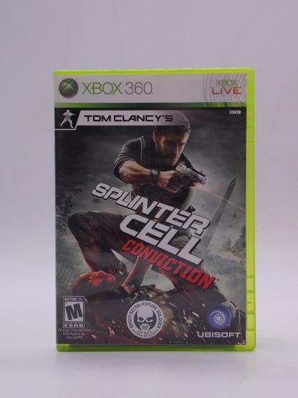 Splinter Cell Conviction Xbox 360 Original Mídia Física