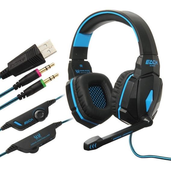 Acessórios Para Pc Headset Hedphone Kotion Each G 4000