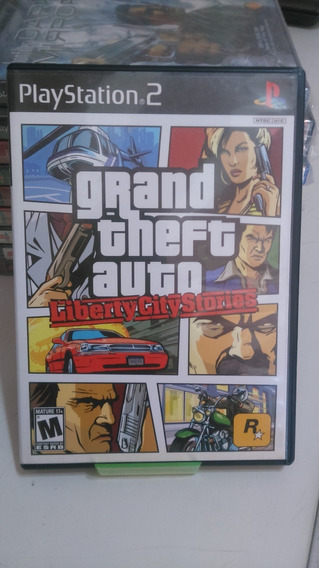Jogo Playstation 2 Grand Theft Auto Liberty City Stories