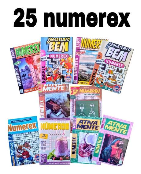 25 Numerex, Números,numerix Sem Repetição