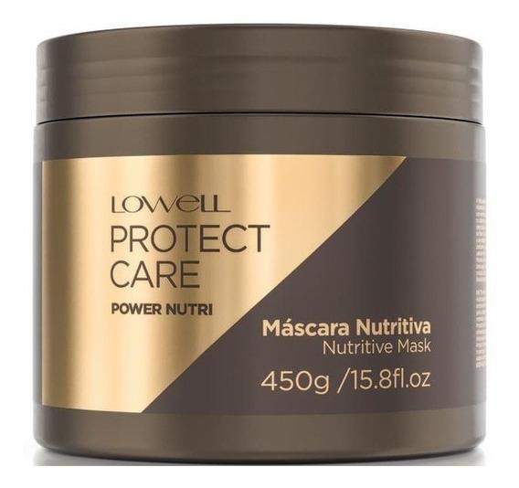 Lowell Protect Care Máscara Power Nutri - 450g + Brinde!!!