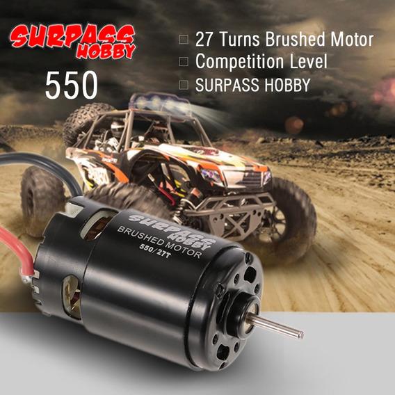 Surpass Hobby 550 27t Motor Escovado Para Hsp Hpi Wltoys