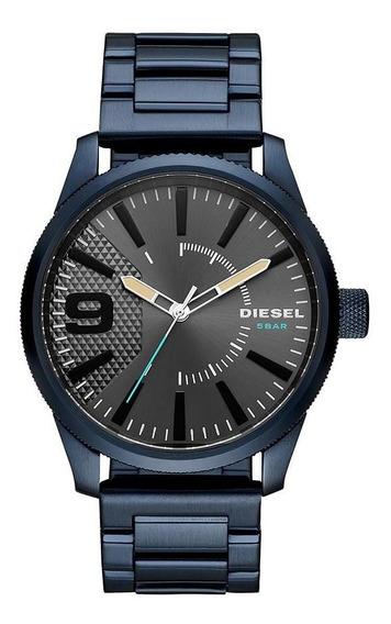 Relógio Diesel Masculino Brave Blue Azul Dz1872/1an