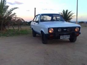 Ford Escort Mk2 Pamperito Ingles 1.6