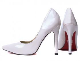 dad53a591d Off White Feminino Scarpins - Sapatos no Mercado Livre Brasil