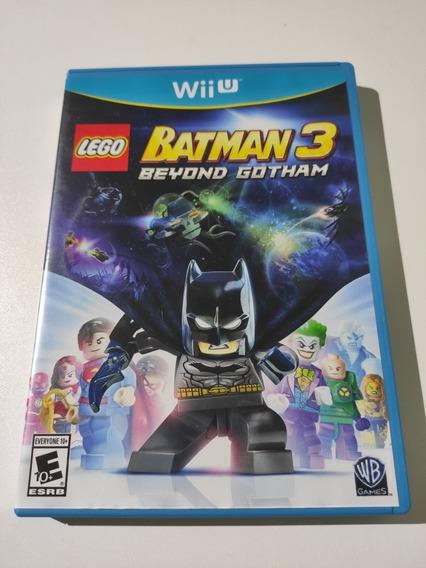 Lego Batman 3 Beyond Gotham Americano Mídia Física Wii U