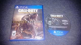 Call Of Duty Advanced Warfare Completo Para Play Station 4