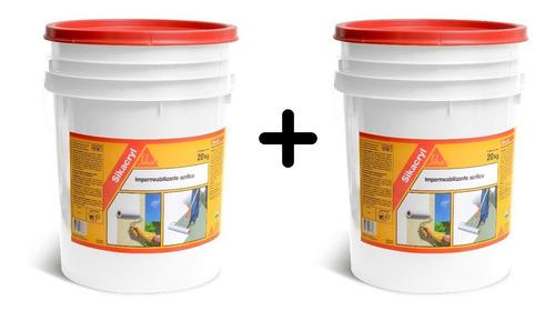 Impermeabilizante Sikacryl 20k+20k