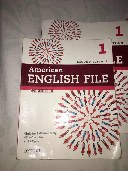 Vendo Livros American English File Online Ou Workbook