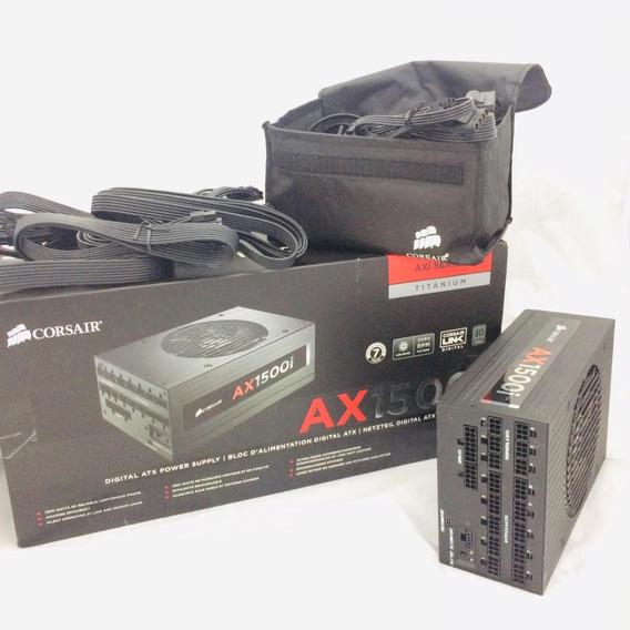 Fonte Corsair Ax1500i 1500w Full Modular Pc Gamer