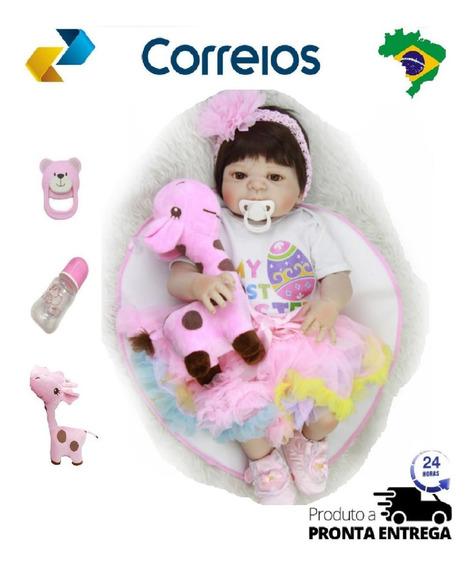 Só Hoje, Bebê Reborn Perfeita Realista Barato Pode Banho 12x