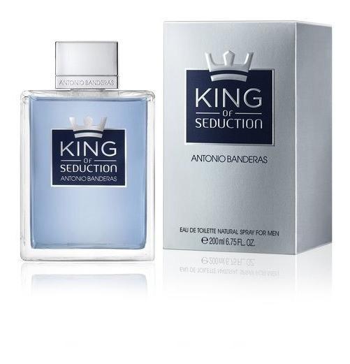 Perfume Masculino Antonio Banderas King Of Seduction 200ml
