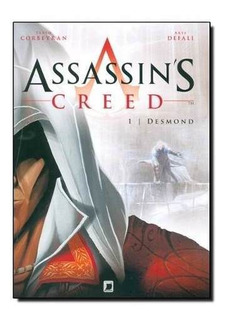 Livro - Assassin S Creed Hq: Desmond - Vol.1