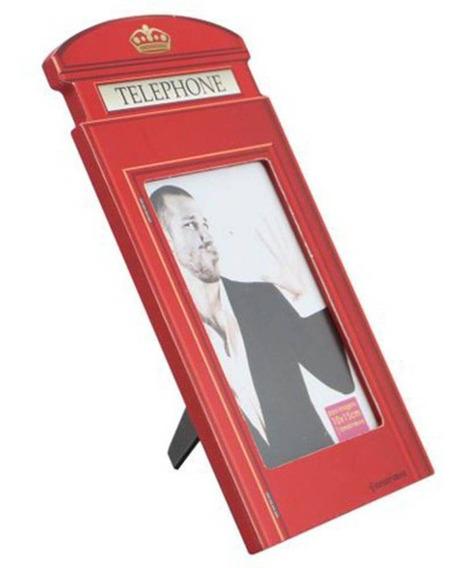 Porta Retrato Mda Formato Cabine Telefonica