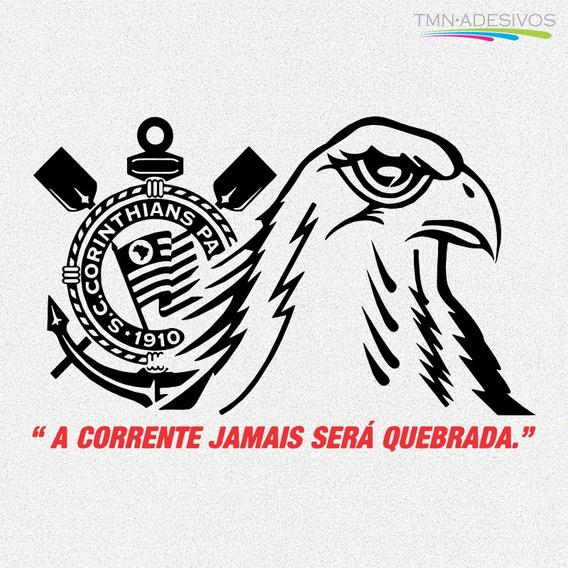 Adesivo Gavião Corinthians P/ Porta Geladeira Etc 60cm A327