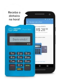 Maquininha Point Mini Do Mercado Pago - Envio Imediato