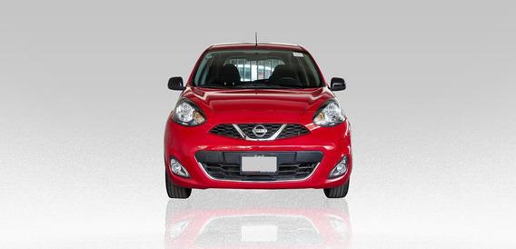 Nissan March Sr 1.6l 2018 Rojo 5 Puertas