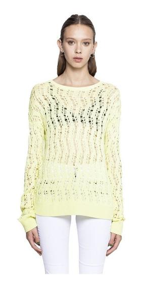 Sweater Snakes Tejido Cuello Redondo Mujer Complot