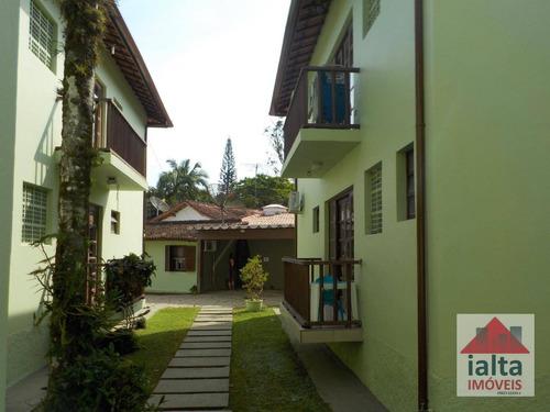 Imagem 1 de 17 de Apartamento Com 2 Dormitórios À Venda, 68 M² Por R$ 340.000,00 - Lázaro (praia Domingos Dias) - Ubatuba/sp - Ap0022