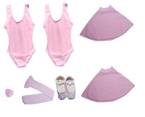 cd11e037d1 Collant De Ballet Roupa De Bale Várias Cores E Tamanhos - Calçados ...