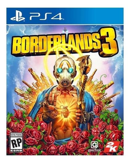 Borderlands 3 Ps4 Mídia Física Novo Lacrado Original