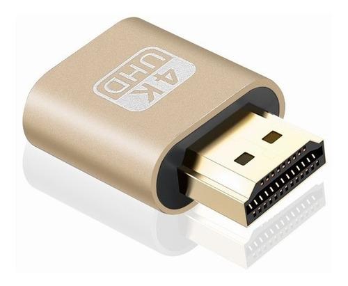 Imagem 1 de 4 de Dummy Hdmi Plug 4k - Emulador De Monitor - Entrega Imediata!