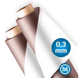 Rolo 20 Metros Imã Manta Magnética 0,3mm Adesivada Lembrança