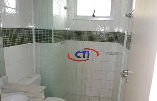 Apartamento Com 2 Dormitórios À Venda, 61 M² Por R$ 276.000,00 - Santa Terezinha - São Bernardo Do Campo/sp - Ap3472