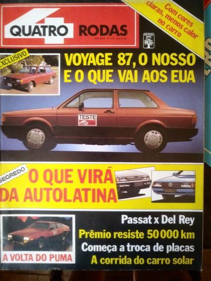Revista 4 Rodas 319 Fevereiro De 1987