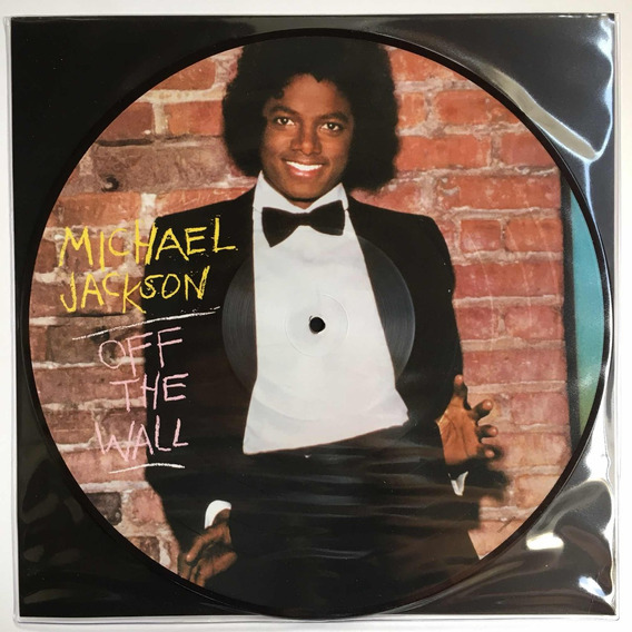Michael Jackson - Off The Wall - Lp Picture Disc Novo