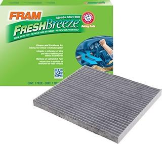 Filtro De Aire De La Cabina Fresh Breeze Fram Cf11819 Con Br