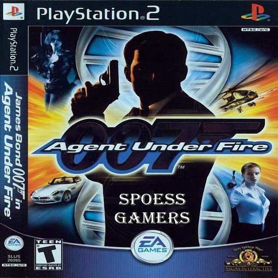 007 Agent Under Fire James Bond Ps2 Desbloqueado Patchs
