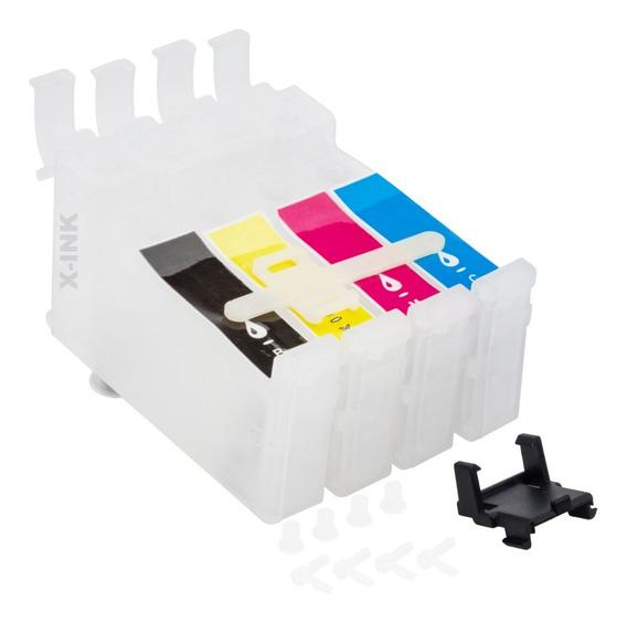 Kit 4 Cartuchos Bulk Ink Epson Para Reposição