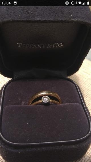 Anillo De Boda Y Compromiso Tiffany.