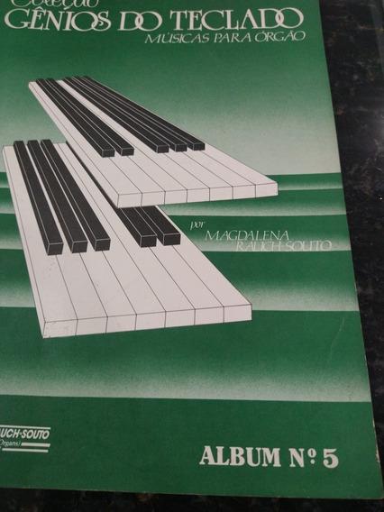 Coleção Gênios Do Teclado Músicas Para Órgão Álbum 5
