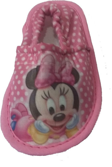 Pantufla Cerrada Bebe Personaje Infantil Directo Fabrica X10