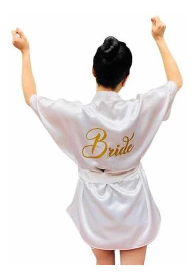 Bata Color Perla Para Novia Bride To Be Wedding Day