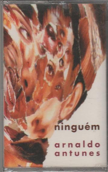Arnaldo Antiunes - Fita K7 Ninguém - 1995 - Lacrada - Titãs
