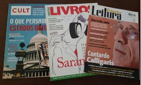 Revistas Entre Livros Cult Primeira Leitura - 10 Revistas