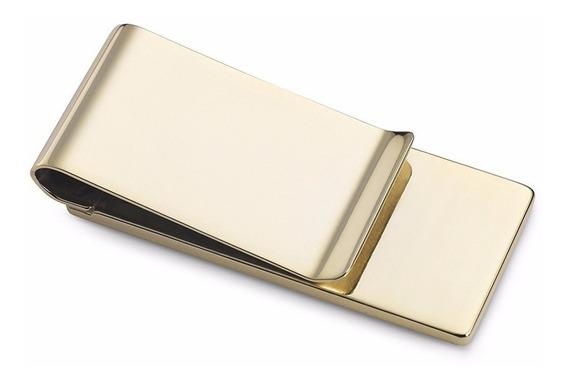 Money Clip Color Gold Para Tarjetas Y Billetes Envio Gratis