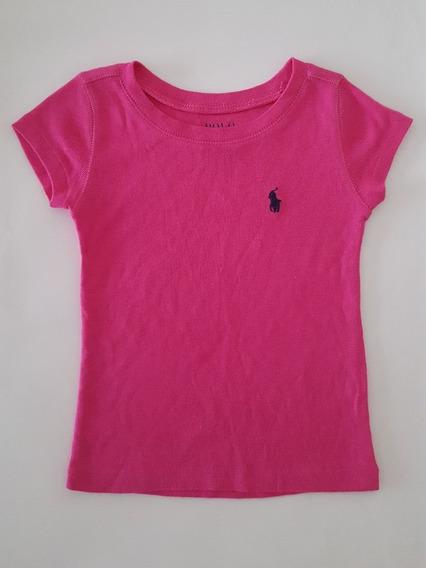Ralph Lauren Camiseta Pink Tamanho 2 .