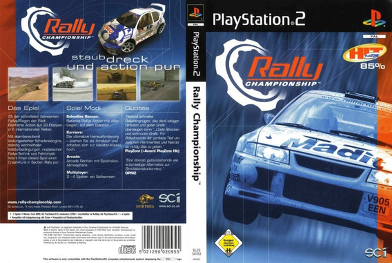 Rally Championship Playstation 2 Corrida Raridade Ps2 É Aqui