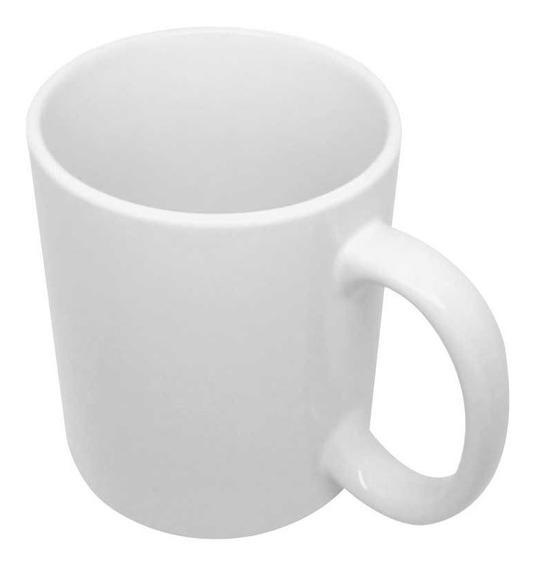 48 Canecas Branca De Porcelana Para Sublimacao 325ml Aaa