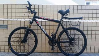 Bicicleta Aro 26 C/ Kit Shimano Alivio Freio Disco